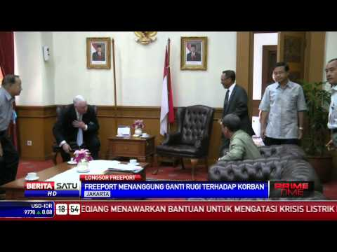 Freeport Menanggung Ganti Rugi Terhadap Korban