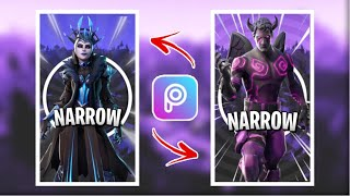 HOW TO MAKE A FREE FORTNITE WALLPAPER!! (iOS/Andriod) *Easy*
