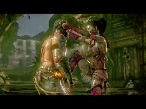 Mortal Kombat X online - rfmckinleyport (Mileena and others) x nickstation10 (Kano and others)