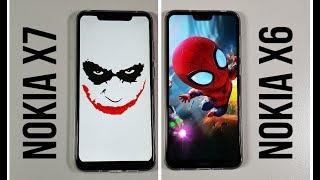 Nokia X7 vs Nokia X6 Speed test/Gaming comparison PUBG Snapdragon 710 vs 636