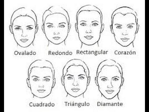 Identifica tu tipo de rostro youtube for Tipos cara