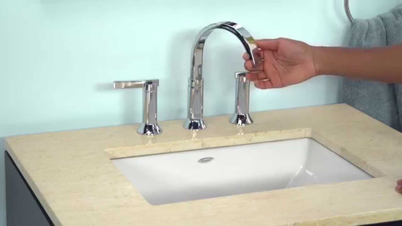 Berwick Widespread Bathroom Faucet by American Standard - YouTube