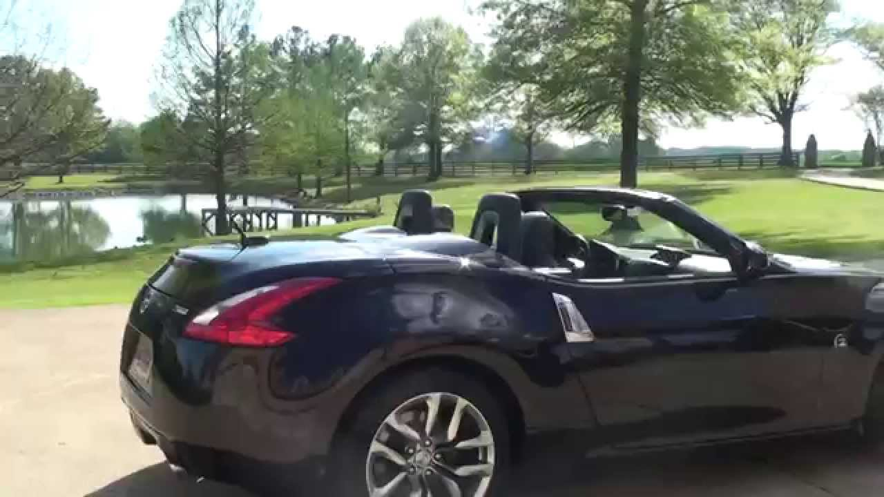 HD VIDEO 2010 NISSAN 370Z CONVERTIBLE FOR SALE SEE WWW ...
