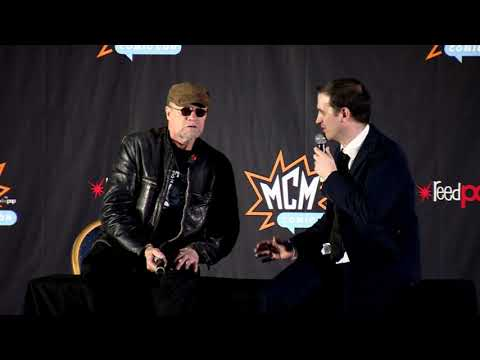 MCM Birmingham Comic Con Sunday March 2018: Michael Rooker