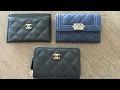 Chanel classic and boy coin purse comparison!!!!