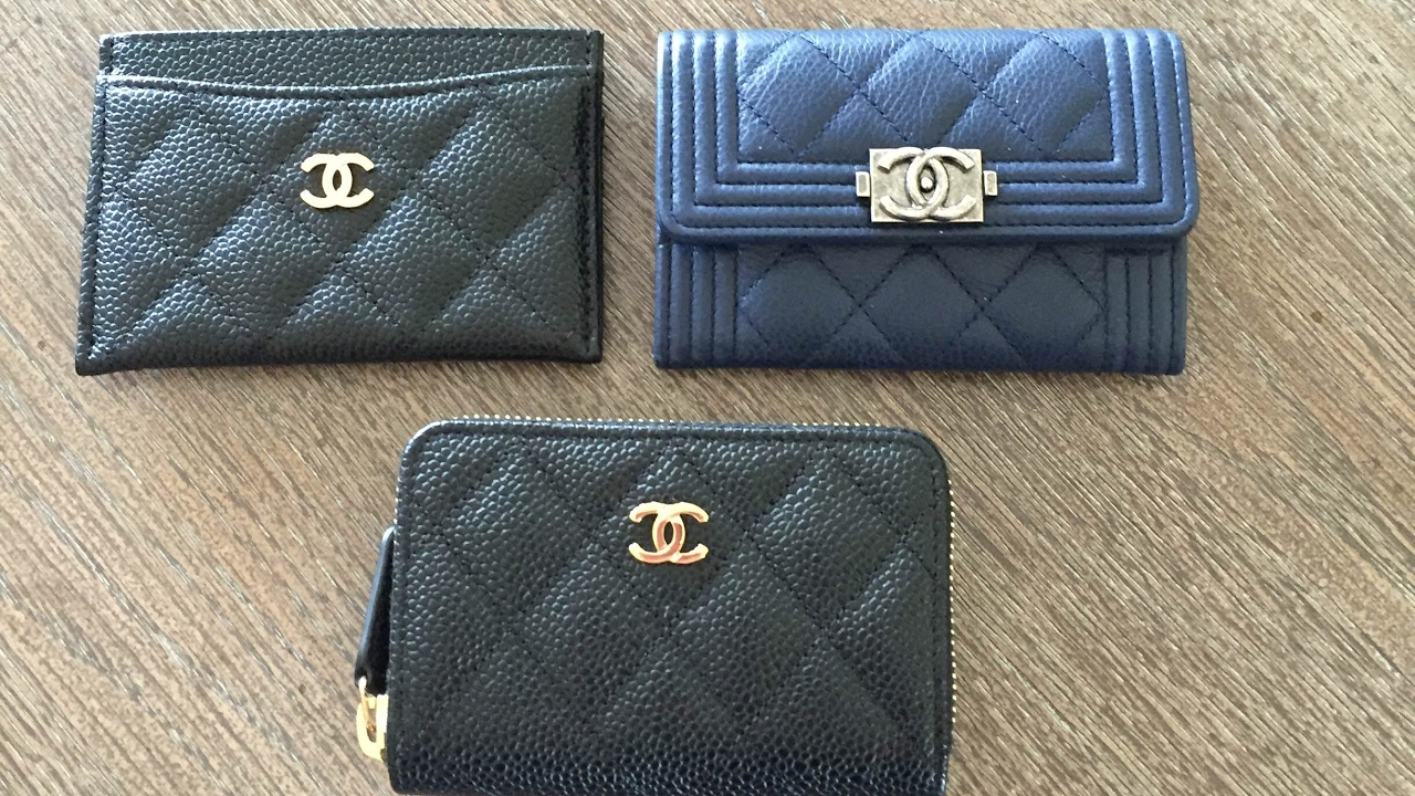 b835f1873217c2 Chanel classic and boy coin purse comparison!!!! - YouTube