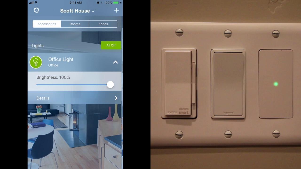 Apple Homekit Switches. Elgato Eve vs Leviton Decora. Control any ...