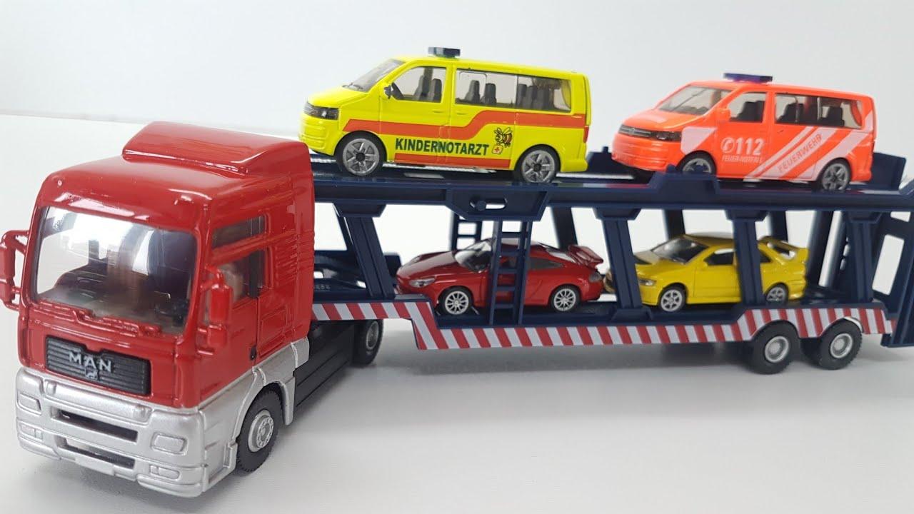 Car Transporter Die Cast Metal World Plastic Parts Cars Video For