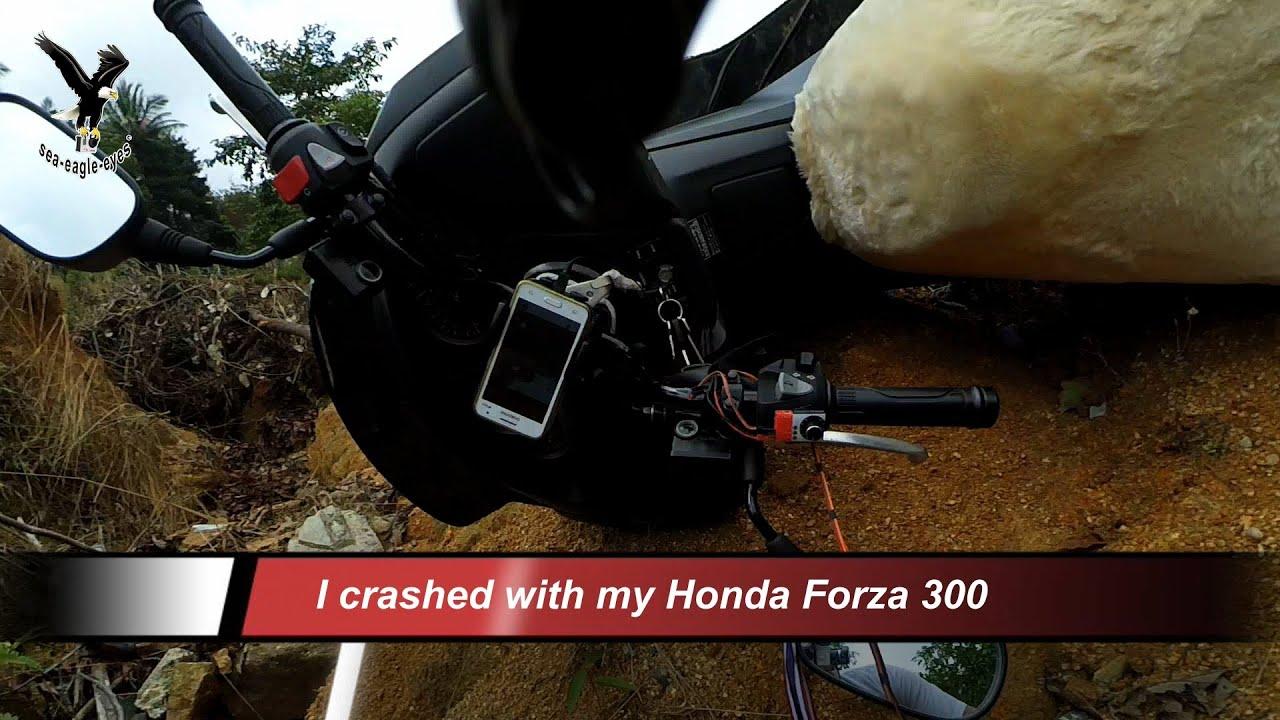 With the motorbike to standing Buddha -2 +accident / Koh Samui