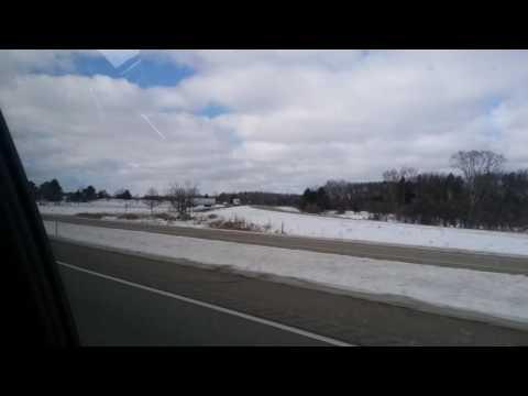 Michigan state police traffic stop