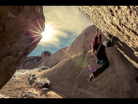 Five Ten 2015 | Nina Williams | Bouldering in Bishop