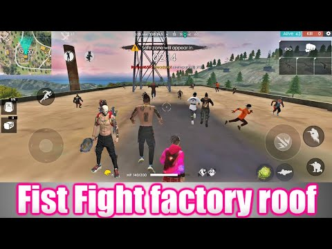 Free Fire Fist Fight - Factory Ke Upar Custom Room   #FreeFire