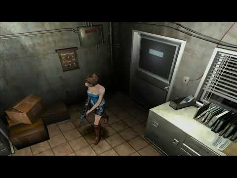 Resident Evil 3 - Seamless HD Project 1.1 (Dolphin Emulator Texture Pack - 16:9 Stretched)