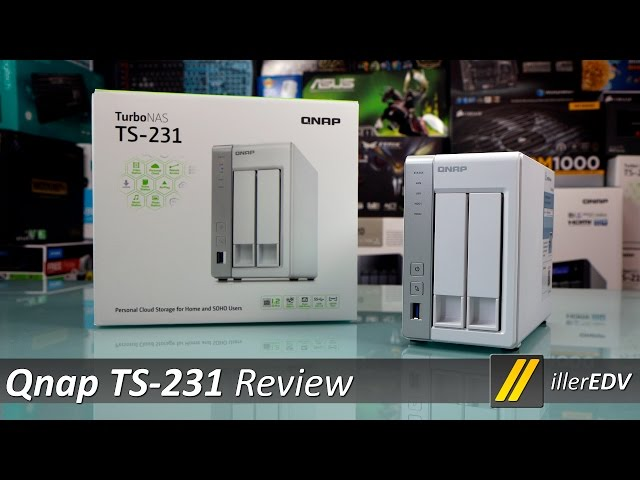 Qnap TS-231 Review und Überblick