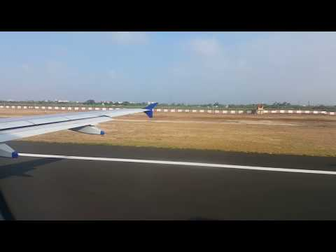 Takeoff from Vadodara Airport & Landing at New Delhi International Airport- IGIA