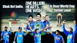 "Chak De India + De Ghuma Ke(Remix) = ""Celebration"" India won World cup 2011 Championship"