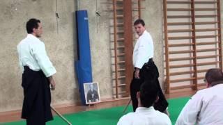 Stage M° Marc Bachraty 2015 Aikido
