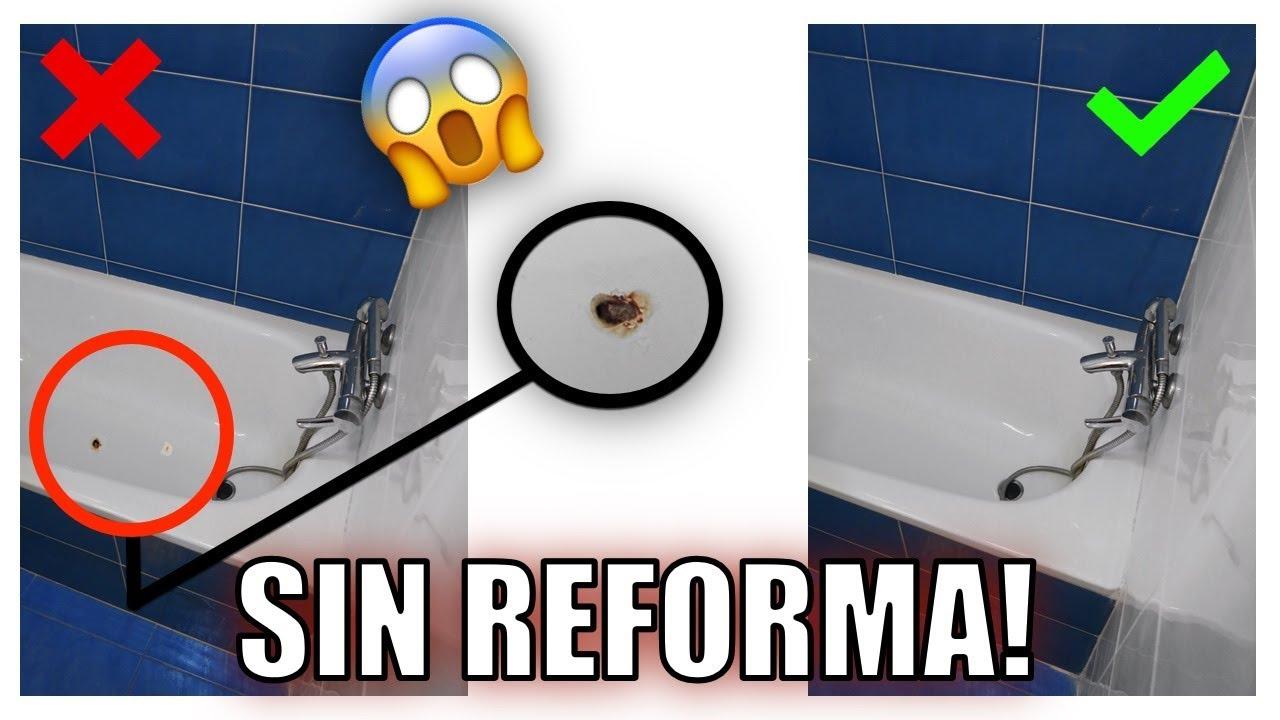 C mo arreglar una ba era oxidada 5 ideas para mejorar un for Ideas para arreglar un bano