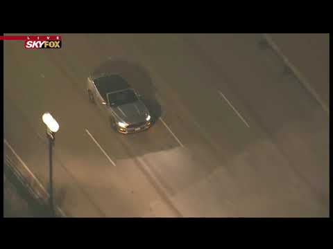 SUSPECT GET AWAY?: Police Back Off Stolen Car Suspect in SoCal (FNN)