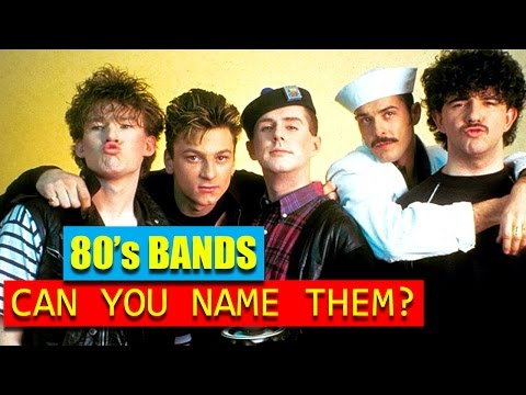 80S BANDS  CAN YOU NAME THEM?