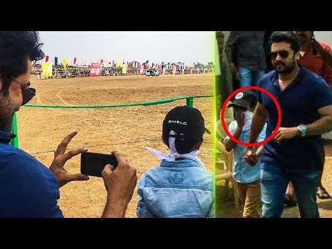 Suriya revisits his childhood memories with his son Dev | Suriya