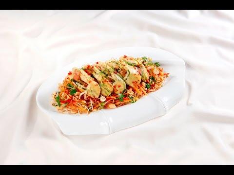 Món Ngon Mỗi Ngày - Nộm gà chay hoa chuối