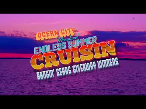 Bangin' Gears GIVEAWAY Winners from the Endless Summer Cruisin' in Ocean City MD