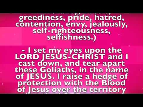 Prayer of Proclamation  (With Lyrics)