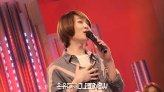 [FANCAM] 120417 Onew singing Park Jiyoon