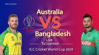 Australia vs Bangladesh #AUSvBAN - LIVE Talkathon - DD Sports - ICC Cricket World Cup 2019