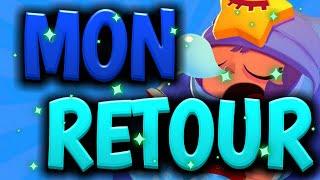 LIVE BRAWL STAR [FR] MON RETOUR SUR BRAWL STAR  EN GAME ABO ET RUSH