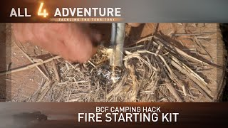 Fire Starter Kit: BCF Camping Hack ► All 4 Adventure TV