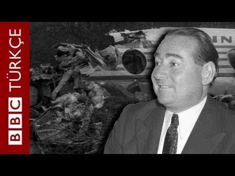 ARŞİV ODASI: Adnan Menderes'in Londra uçak kazası, 1959 - BBC TÜRKÇE