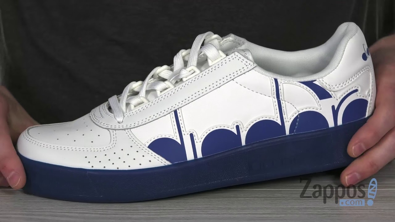 Mens Diadora B.Elite Bolder Sneakers White