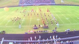 John S. Battle Marching Band - 2013 Game 1