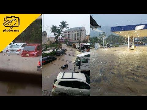 August Monday 7, 2017 Flood In Tortola British Virgin Islands 🇻🇬 #bvistrong #onebvi