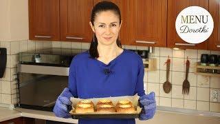 PRL-ki. Faszerowane bułki z piekarnika. Szybkie, tanie danie z czasów PRL-u. MENU Dorotki