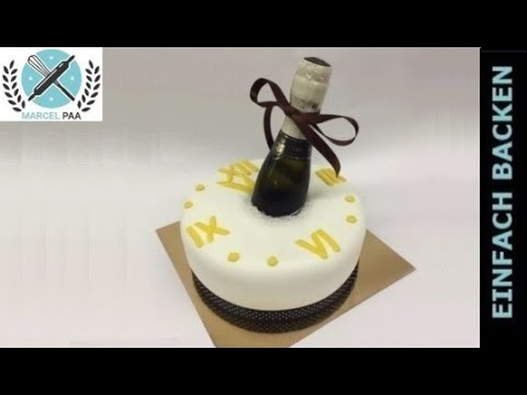 Silvester Torte New Year Cake Youtube