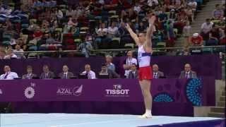 Выступление Российских гимнастов на соревнованиях в Баку!