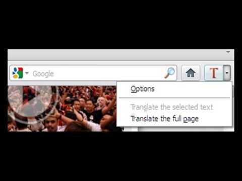 شرح اضافة خاصية الترجمة الفورية السريعة للفيرفكس من جوجل