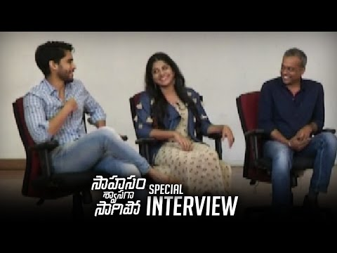Naga Chaitanya,Manjima & Gautham Menon Special Interview About Sahasam Swasaga Sagipo Movie | TFPC