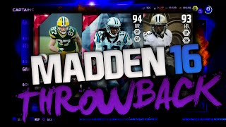 HOLY F*** GOAT PULL! EPIC REACTION! THROWBACK PACK OPENING | Madden 16 Ultimate Team