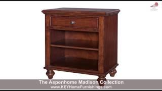 Aspenhome Madison Bedroom Collection | Portland | Key Home Furnishings