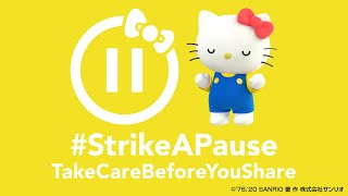 Show compassion before you share! [Hello Kitty Strike A PAUSE]