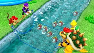 Super Mario Party - Challenge Road - Mushroom Beach All Minigames