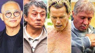 Jet, Jackie, Arnold, Sylvester. Das ist mit den beliebten Schauspielern passiert