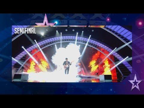 ¡Desastre! Este guitarrista huye del escenario tras un error | Semifinal 3 | Got Talent España 2018