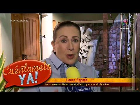 Laura Zapata y Chantal Andere se agarran del chongo en El Bienamado | Cuéntamelo YA!