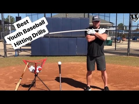 THE 7 BEST YOUTH BASEBALL HITTING DRILLS!