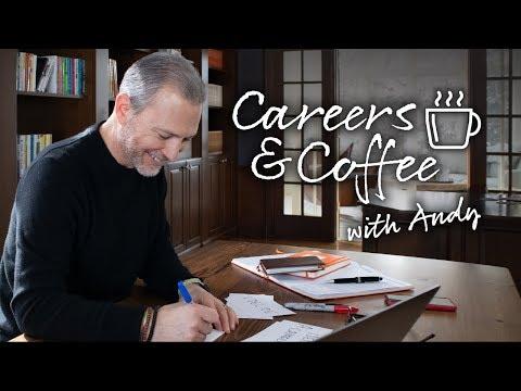 #CareersAndCoffee with Andrew LaCivita   Video Job Interviewing!